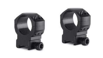 Hawke Tactical Mounts 30mm 2pc Weaver/Picatinny HIGH Scope Mount Rings 24117
